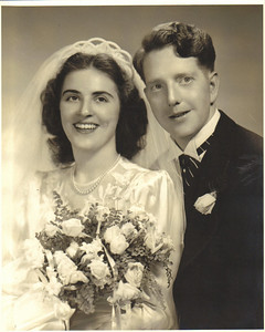 Larry Carroll married Mary Anne Pitts on June 7, 1947, at St. Patrick Church (West Park), Cleveland.