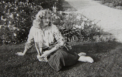 This picture of Marilyn Exline, formerly known as Marilyn Hufford, probably was taken in the late 1950s or early 1960s.