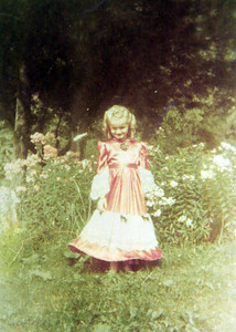 Little Marilyn Ayster, pictured in 1948.