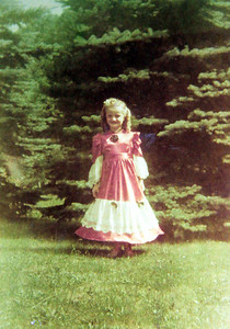 Little Marilyn Ayster, daughter of John and Dorothy Ayster, pictured in 1948, grew up in Gates Mills, Ohio.