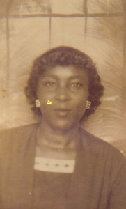 Bertha Cooper, wife of Sylvester Cooper, 1950s.
