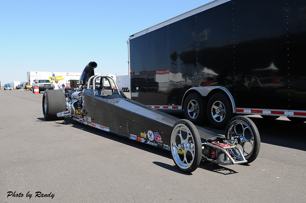 David Dale's Super Comp Dragster