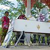 Open Coffin Ready for Villagers, Family, and Friends to Pay their Last Respects