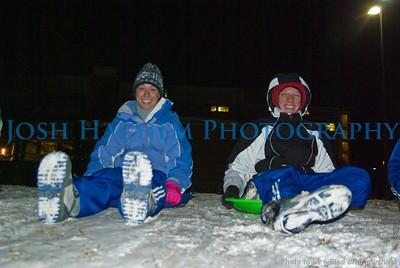 12 17 2008 Sledding down JRP hill (2)