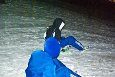 12 17 2008 Sledding down JRP hill (7)