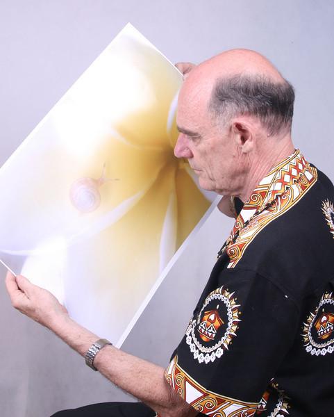 Ian in Tongan Exhibition