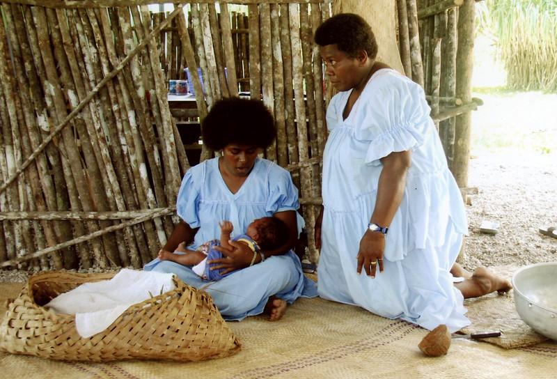 Nativity In Mangaliliu, Vanuatu