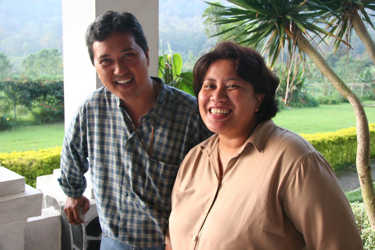 Victorius and Lisa, Bali