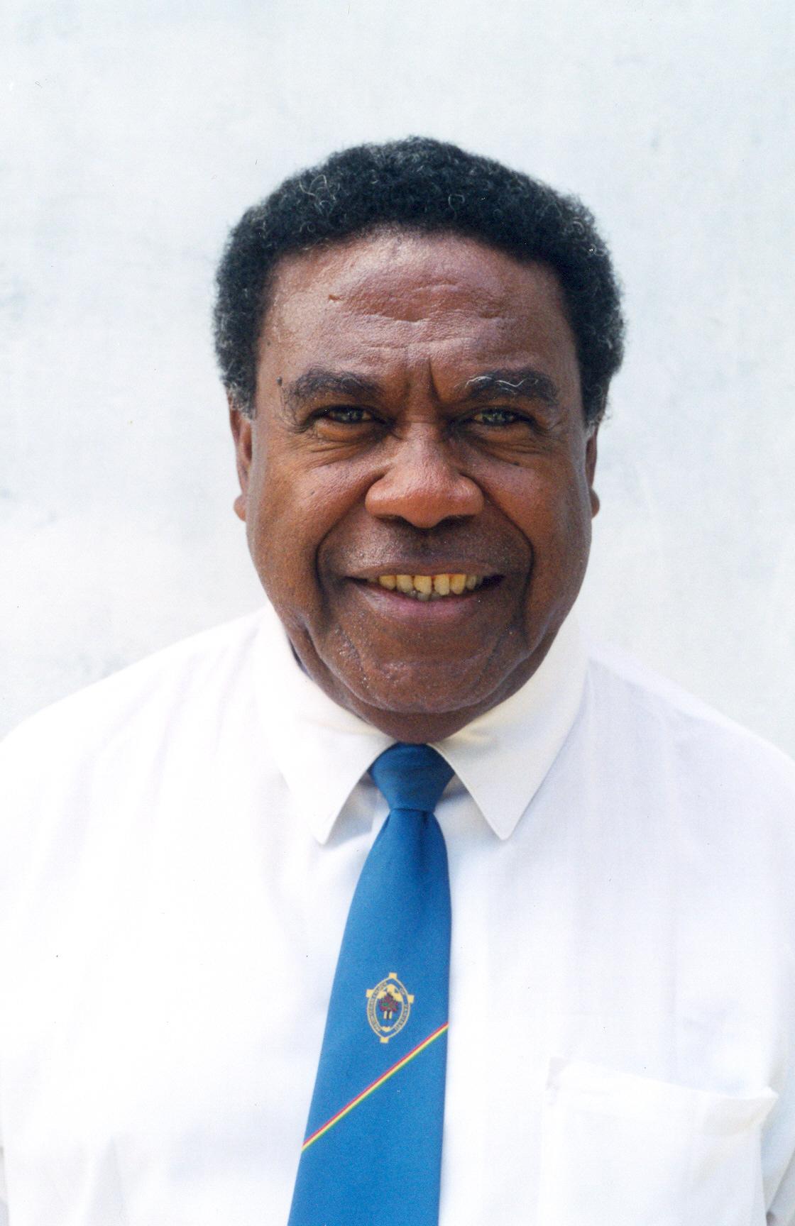 His Excellency, Ati George Sokomanu, President, Republic of Vanuatu