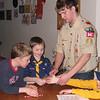 Emergency Preparedness Training by Boy Scout Ben 3/5/2008