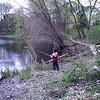 Alex fishing 5/10/2008