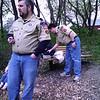 Den leaders supervise fishing 5/10/2008