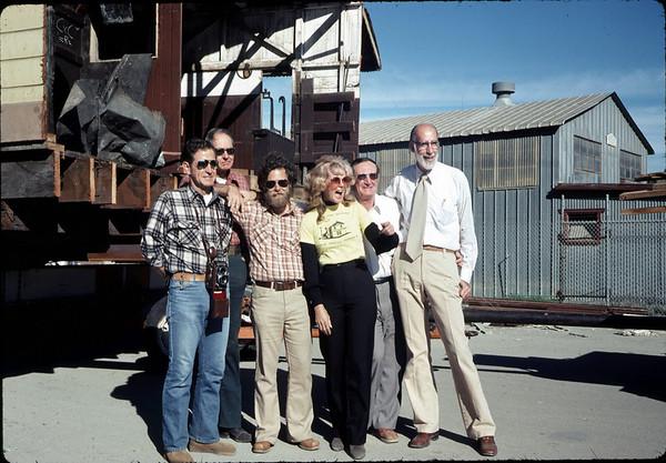 Paul Heuston, Gene Allen, Gary Coombs, Phyllis Olsen, Londi Ciabattoni, Ray Baird, Nov. 18, 1981.