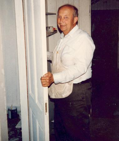 """Ernest """"Ernie"""" Thomsen, 1982."""