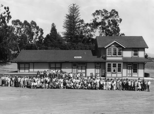 """""""Friends Of Goleta Depot"""" photo. Taken Oct. 9, 1982 by Paul Heuston."""