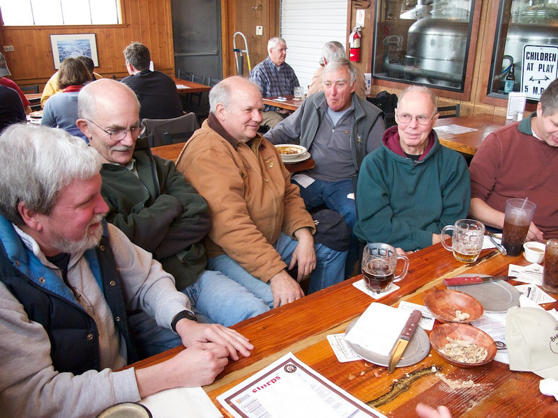 Denny Bowman, Mike Fager, Russ Moye, Mike Donoghue, Bruce Edney, Dave Carey.