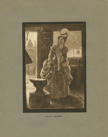 Dickens character, Dolly Varden