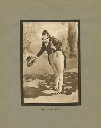 Dickens character, Mr. Turveydrop