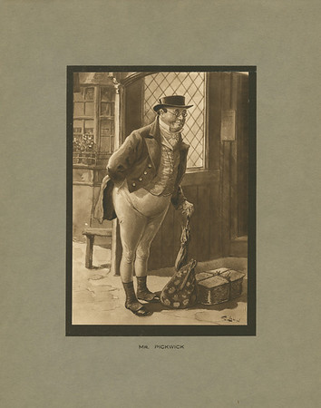 Dickens character, Mr. Pickwick