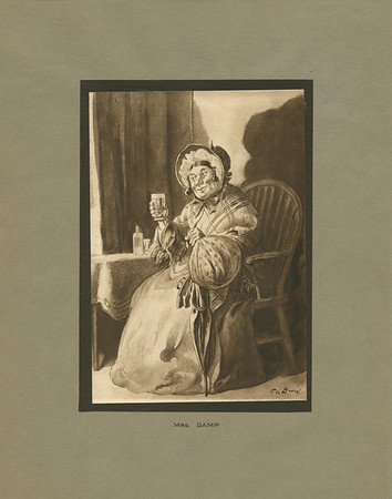 Dickens character, Mrs. Gamp