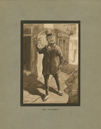 Dickens character, Mr. Micawber