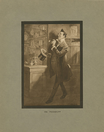 Dickens character, Mr. Pecksniff
