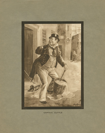 Dickens character, Captain Cuttle
