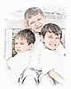 002 Doan Family At Purina Farms 6-11 - Nicholas Dakota Jaden (8x10) jibz