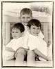 001 Doan Family At Purina Farms 6-11 - Nicholas Dakota Jaden (8x10) framed oldphoto1