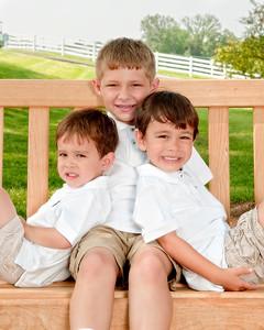 001 Doan Family At Perina Farms 6-11 - Nicholas Dakota Jaden (8x10)