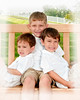 001 Doan Family At Purina Farms 6-11 - Nicholas Dakota Jaden (8x10) framed