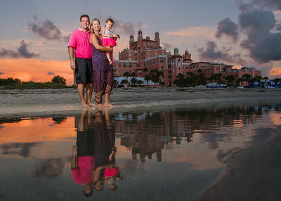 Don Cesar Hotel Kids Family Portraits St Pete Beach