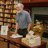 Don Gutteridge at a book reading following the re-issue of his first mystery, Turncoat, by Simon and Schuster. The reading was at a Chapters store in London, Ontario. on August 24, 2010.