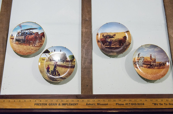 Globe/Roger Nomer<br /> Cowboy Bob's interior design incorporates many artifacts from Asbury's history.
