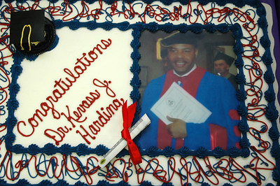 Contgratulations to the new graduate Dr. Kevass J Harding.