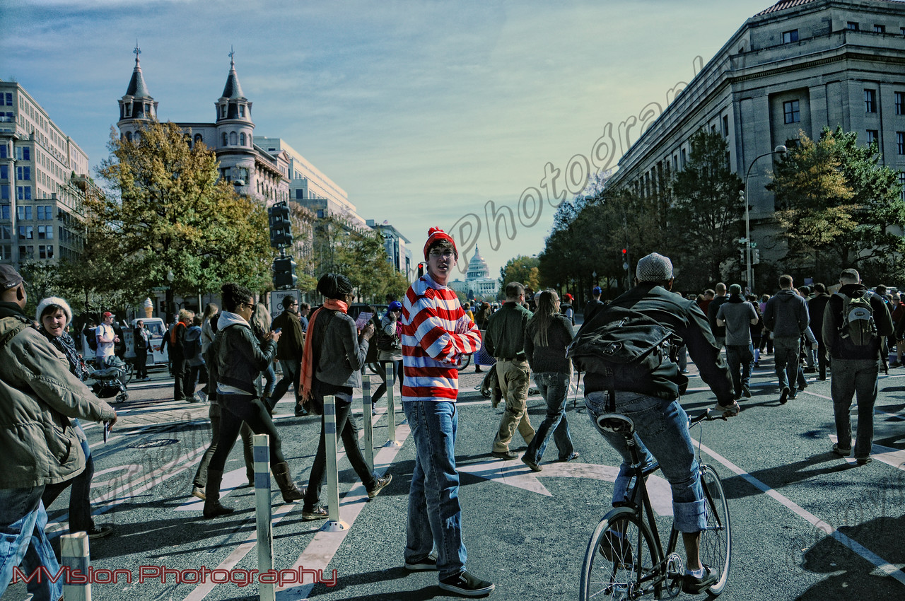 Washington DC is where Waldo was found!