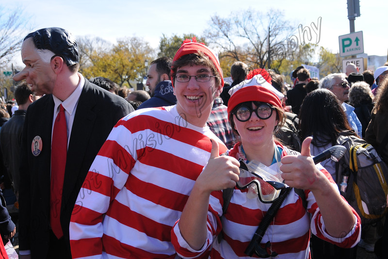 could it be?  Another Waldo?