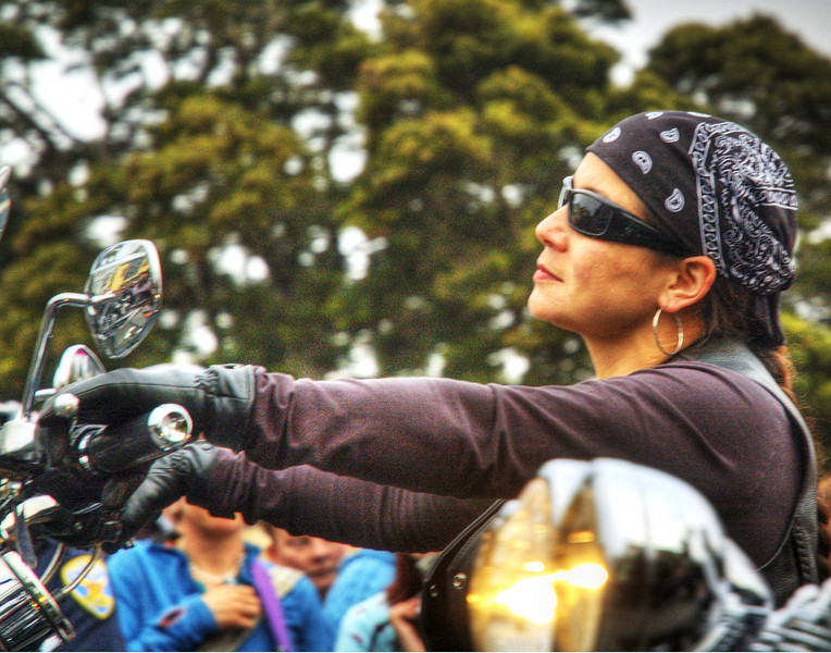 CONTEMPLATE - Dykes on Bikes, San Francisco, California