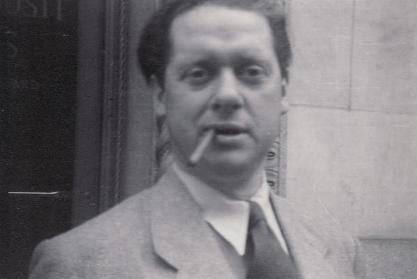 Dylan Thomas in New York, 1953