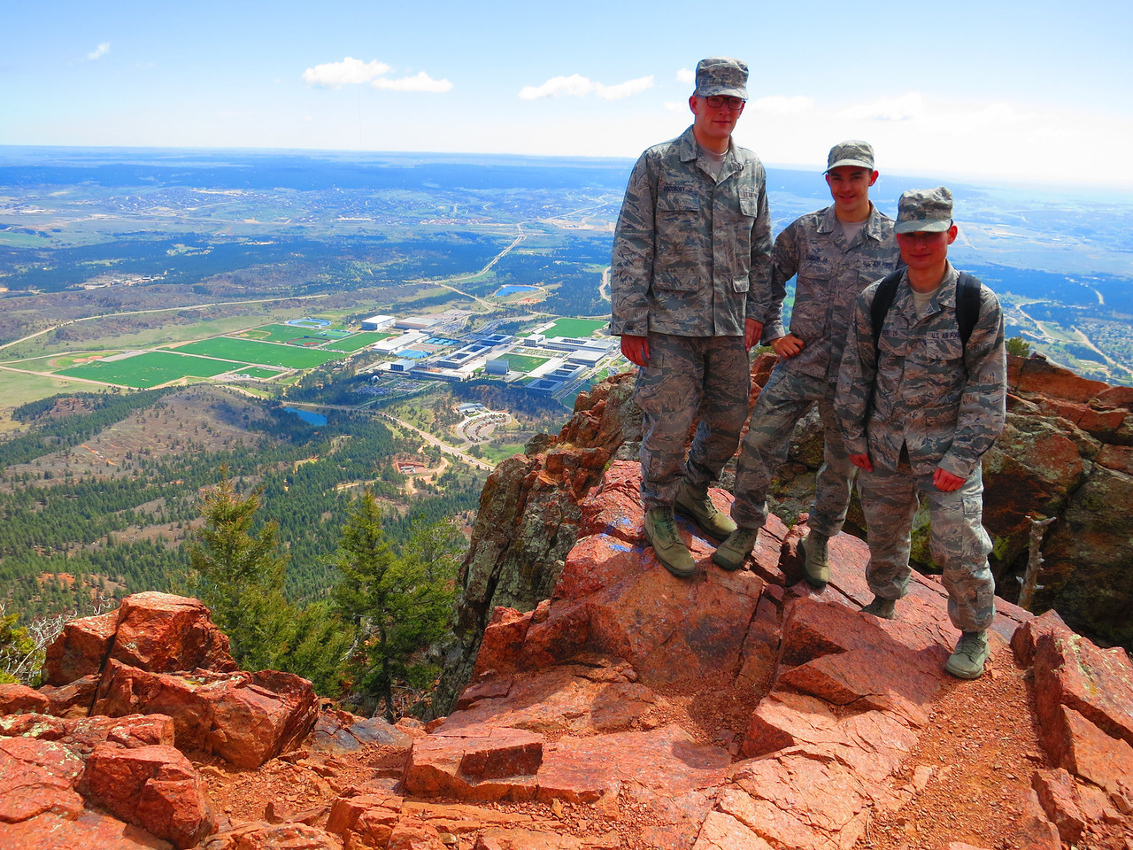 Only three more years to go. ... Thanks, guys, for your service to our nation.