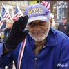 Earl Washington at a Veterans Tribute at Monument Terrace (4067)