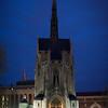 Heinz Chapel, early dusk.