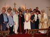 Here's the St. David's contingent at the Deanery Comfirmation service at the end of May. <br /> Front row: Caol, Donna, Karen, Cheryl, Laura, lay pastoral associate Deborah Hutchison, Phyllis, and Bishop Cate Waynick. <br /> Back row: Gene, Carol, David, Ed, Tim, Yvonne, Bob. Our seminarian, Tim Fleck, led this year's Inquirers' Class. Good job, Tim!