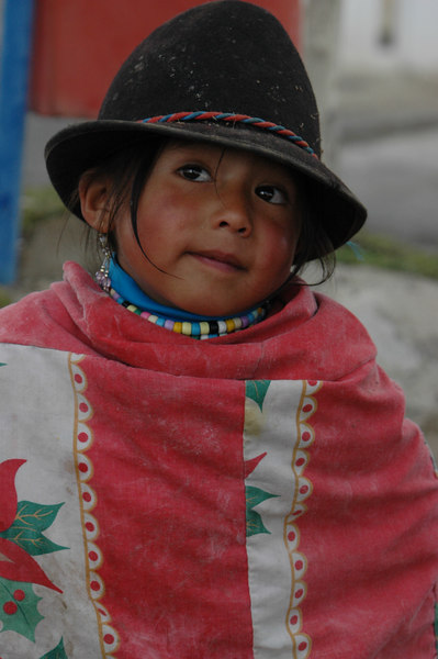 My Favorite<br /> Little girl in Quilotoa<br /> Ecuador