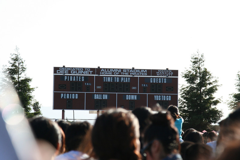 Piedmont Hills High School, home of the Pirates.