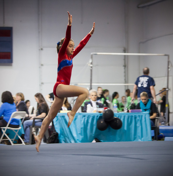 Floor - District Championships, Empire Gymnastics (Oct. 2013)
