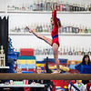 Beam routine, Trevino's Gymnastics District Qualifier (Sep. 2013)