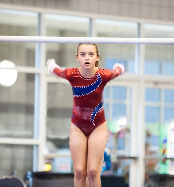 Starting Bars Routine, Achievers Gymnastics (TWU) (Sep. 2013)
