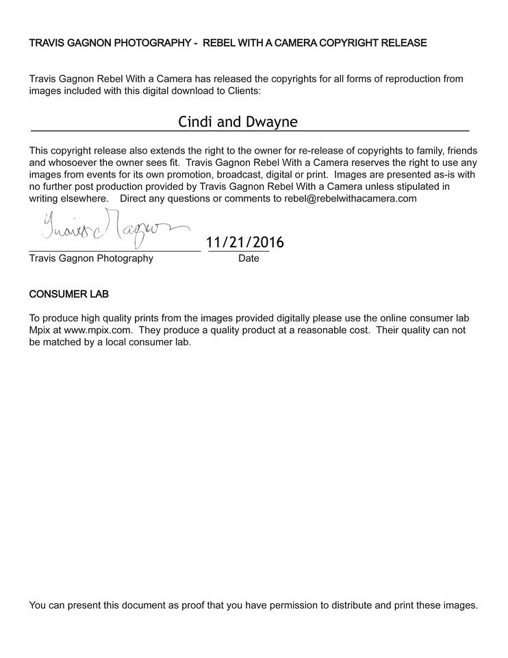 Cindi Copyright release