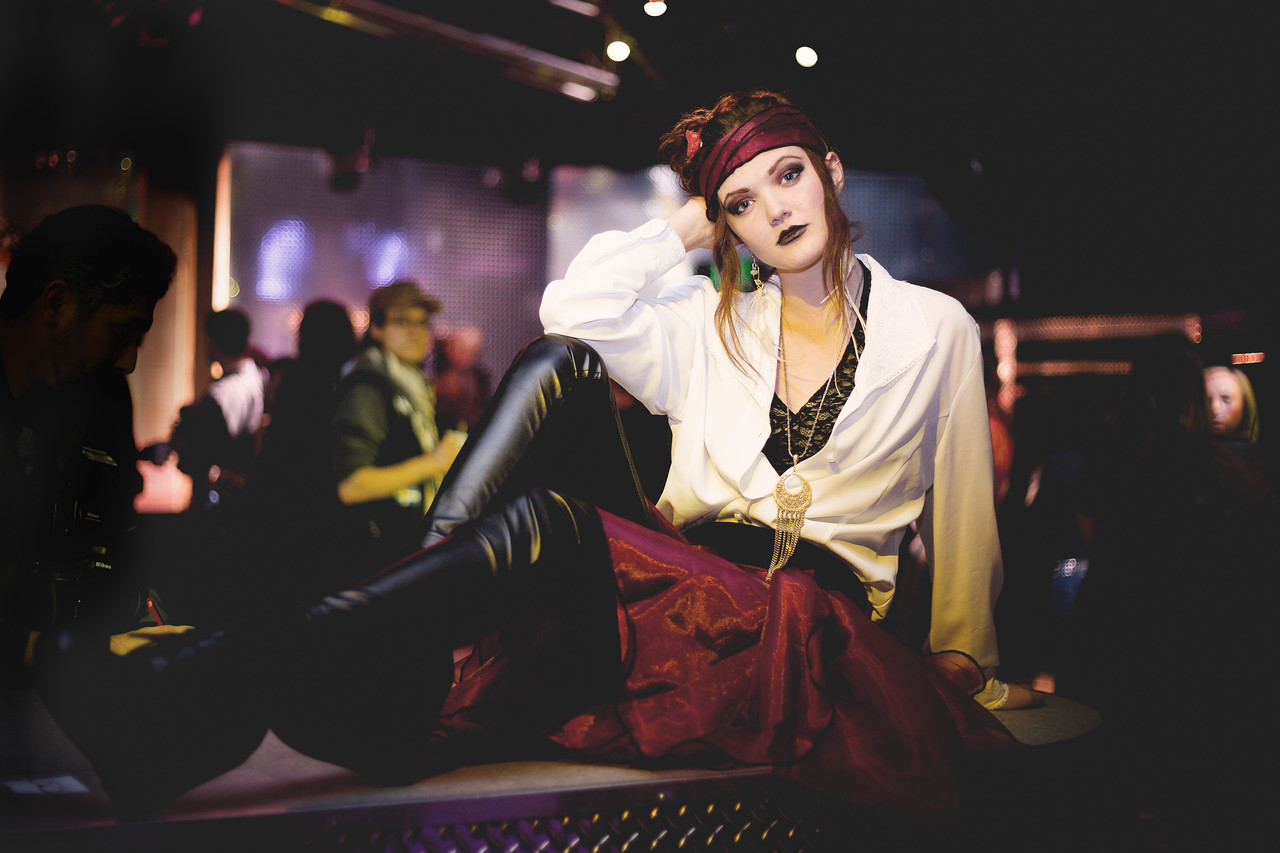 FASHMOB Asheville, NC January 2016  A fun collaboration of talent - models, fashion designers, hair and makeup artists, photographers.  Is this @katdogcouture?  Please remind me who to give credit for this stunning model and design!